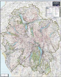 GB National Park Wall Maps